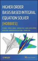 Cover image for Higher Order Basis Based Integral Equation Solver (HOBBIES)