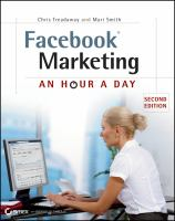 Cover image for Facebook marketing : an hour a day