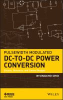 Cover image for Pulsewidth modulated DC-to-DC power conversion : circuits, dynamics, and control designs
