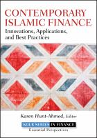 Cover image for Contemporary islamic finance : innovations, applications and best practices