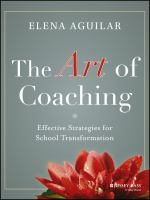 Cover image for The art of coaching : effective strategies for school transformation