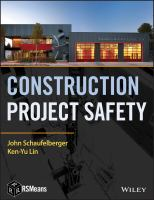 Cover image for Construction project safety