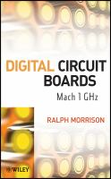Cover image for Digital circuit boards : mach 1 GHz
