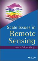 Cover image for Scale issues in remote sensing