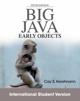 Cover image for Big java