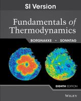 Cover image for Fundamentals of thermodynamics