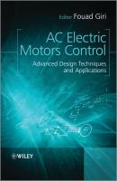 Cover image for AC electric motors control : advanced design techniques and applications