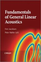 Cover image for Fundamentals of general linear acoustics