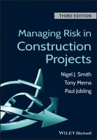 Cover image for Managing risk in construction projects