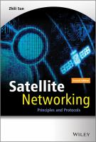 Cover image for Satellite networking : principles and protocols