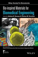 Cover image for Bio-inspired materials for biomedical engineering