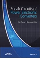 Cover image for Sneak circuits of power electronic converters