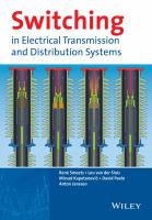 Cover image for Switching in electrical transmission and distribution systems