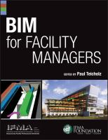 Cover image for BIM for facility managers