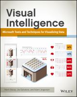 Cover image for Visual intelligence : microsoft tools and techniques for visualizing data