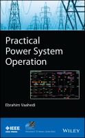 Cover image for Practical power system operation