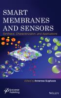 Cover image for Smart membranes and sensors : synthesis, characterization, and applications