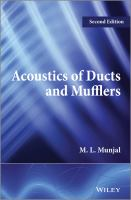 Cover image for Acoustics of ducts and mufflers