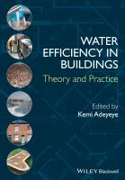 Cover image for Water efficiency in buildings : theory and practice