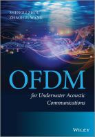 Cover image for OFDM for underwater acoustic communications