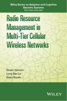 Cover image for Radio resource management in multi-tier wireless cellular networks
