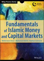 Cover image for Fundamentals of Islamic money and capital markets