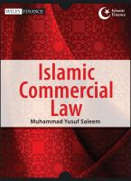 Cover image for Islamic commercial law