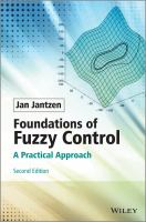 Cover image for Foundations of fuzzy control : a practical approach