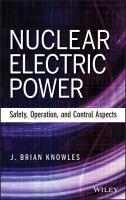 Cover image for Nuclear electric power : safety, operation and control aspects