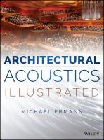 Cover image for ARCHITECTURAL ACOUSTICS ILLUSTRATED