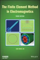 Cover image for The Finite element method in electromagnetics