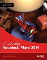Cover image for Introducing Autodesk Maya 2014