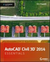 Cover image for AutoCAD Civil 3D 2014 : essentials