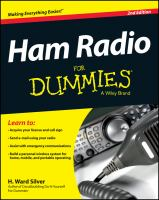 Cover image for Ham radio for dummies