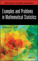 Cover image for Examples and problems in mathematical statistics