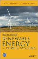 Cover image for Renewable Energy in Power Systems