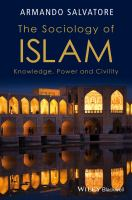 Cover image for THE SOCIOLOGY OF ISLAM : KNOWLEDGE, POWER AND CIVILITY