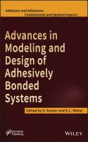 Cover image for Advances in modeling and design of adhesively bonded systems
