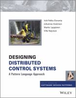 Cover image for Designing distributed control systems : a pattern language approach