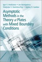 Cover image for Asymptotic methods in the theory of plates with mixed boundary conditions