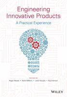 Cover image for Engineering innovative products : a practical experience