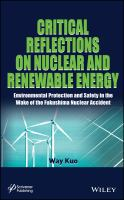 Cover image for Critical reflections on nuclear and renewable energy
