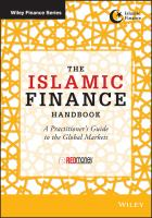 Cover image for The Islamic finance handbook : a practitioner's guide to the global markets