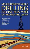 Cover image for Measurement while drilling  signal analysis, optimization, and design