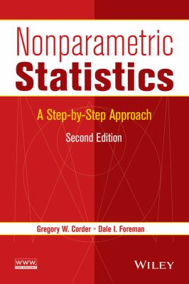 Cover image for Nonparametric statistics : a step-by-step approach