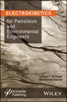 Cover image for Electrokinetics for petroleum and environmental engineers