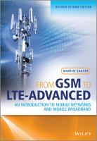 Cover image for From GSM to LTE-advanced : an introduction to mobile networks and mobile broadband