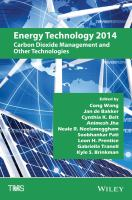 Cover image for Energy technology 2014 : carbon dioxide management and other technologies