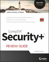 Cover image for CompTIA security+ review guide : exam sy0-401