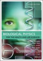 Cover image for Introduction to Biological Physics for the Health andL ife Sciences